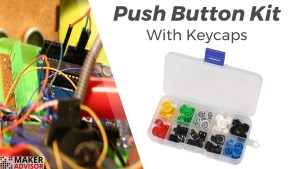 Add Color to Your Projects With Colorful Push Button Kit (Save 10%)