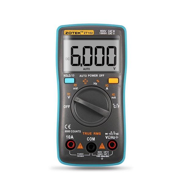 ZT102 Digital Multimeter - GREEN