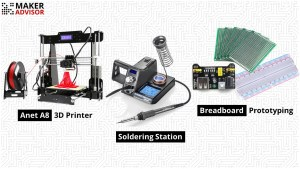 Tuesday's Top Deals: Anet A8 3D Printer, Soldering Station, and Prototyping Accessories