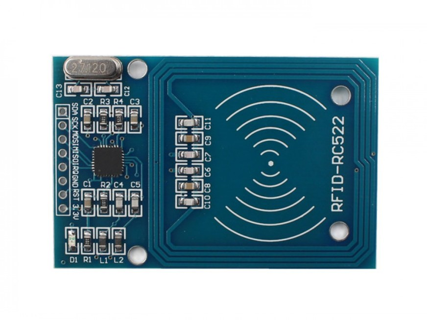 RC522 RFID Reader with Cards Kit- 13.56MHz | Makerfabs