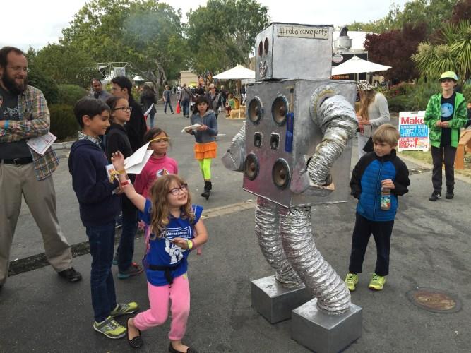 Maker Faire | Robot Dance Party