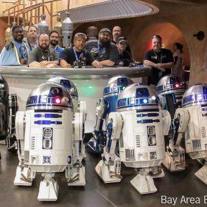 R2-D2 and BB-8 Astromech Droids