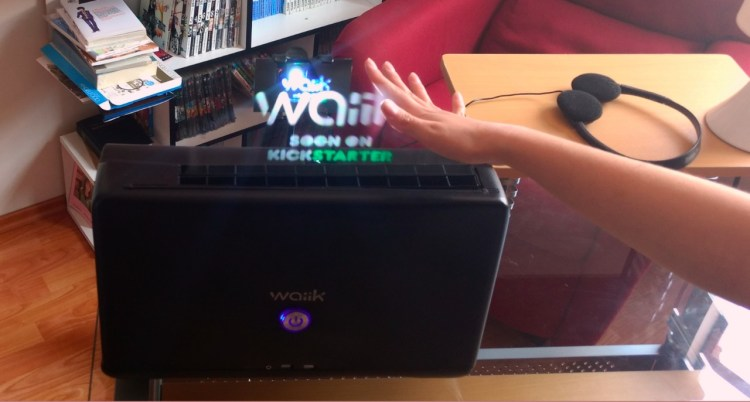 Maker Faire | Waiik  Interactive Hologram Projector