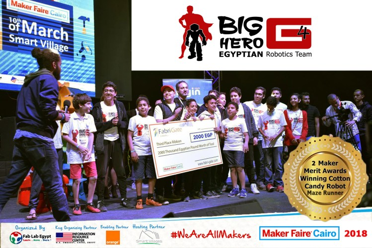 Maker Faire   Cotton Candy Robot / Big Hero Egyptian
