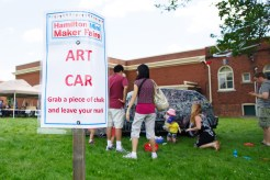 Interactive Art Car
