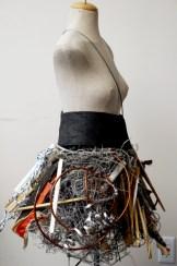 Earthquake skirt by Erin Lewis