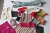 Knitting samples - wearable tech