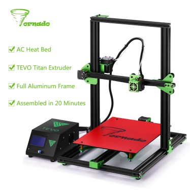 2017-Newsest-TEVO-Tornado-Fully-Assembled-3D-Printer-3D-Printing