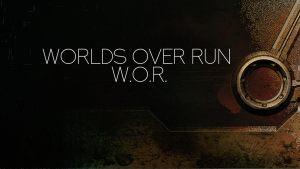 """Worlds Over Run"" 3D printed Terrain"