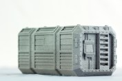Orbital Navy Shipping Container - Warlayer