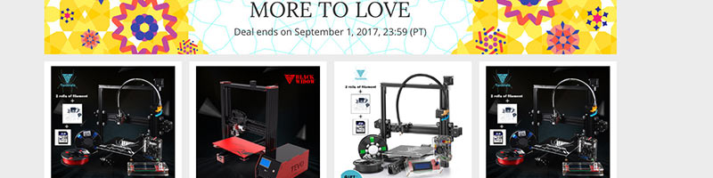 Tevo Printers on sale – the 828 sale going on now!