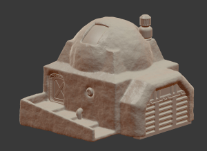 Star Wars Legion Building - Dome 1