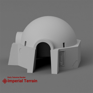 Star Wars Classic Domed House - Early Render