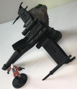 Star Wars Crashed X-Wing objective Marker
