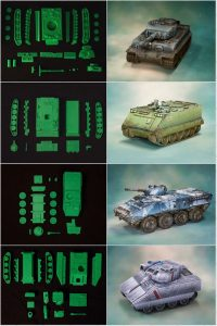 image relating to Printable Tanks identified as 3D Printable Tanks upon Kickstarter. » Company Enjoyable 3D - 3D