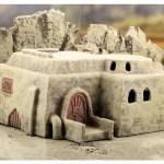 Terrain 4 Print - Desert sci-fi buildings -5