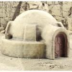 Terrain 4 Print - Desert sci-fi buildings -3