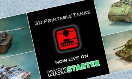 3D Printable Tanks on Kickstarter.