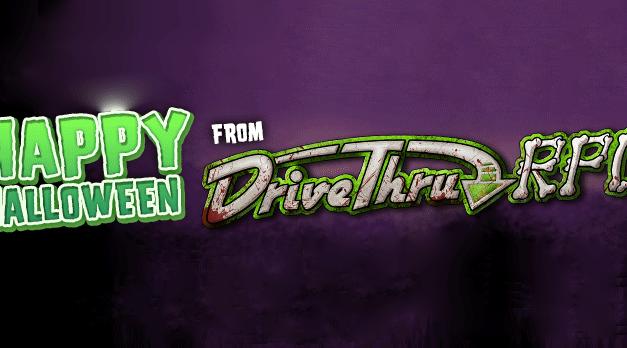 Halloween Sale on DriveThru RPG!