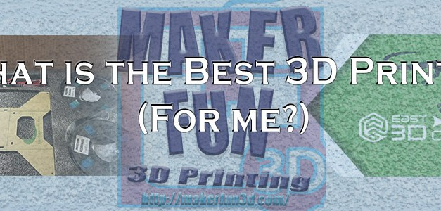 How to Choose the Best 3D Printer for 3D Printable Terrain