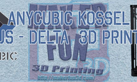 Anycubic Kossel Plus Preview and Live Build