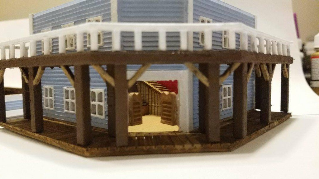 Old West Buildings for HO Scale Train Layouts and Wargaming