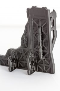 Warlayer Wargame terrain - printed CR10s Damaged Wall