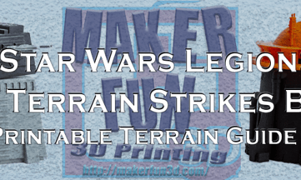 Star Wars Legion: The Terrain Strikes Back