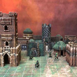 Kyn Finvara: 3d Printable Goblin Village