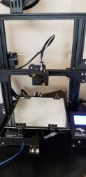 Ender 3 with Mirror tile Bed