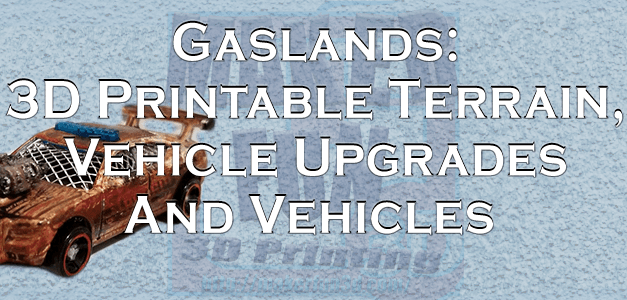Gaslands Terrain 2 – Return of the Cans