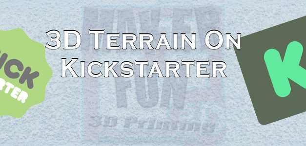 3D PRINTABLE TERRAIN & MINIATURE KICKSTARTERS: APRIL 2019
