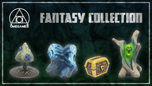 The Fantasy Collection - Downloadable STL and 3D Prints