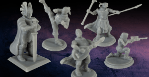 DesktopHero: Custom Gaming Miniatures