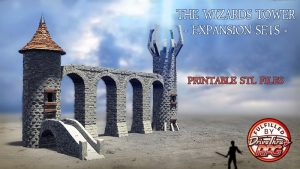 The Wizard's Tower - Expansion Sets - Printable STL files