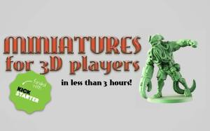 Miniatures for 3D players