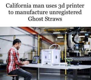 3D Printing Ghost Straws