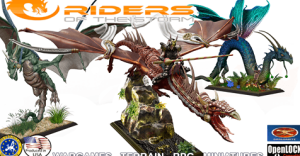 Riders Of The Storm: Elves, Dwarfs Miniatures and Dragons