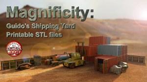 Magnificity: Guido's Shipping Yard - Printable STL files