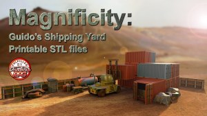 Magnificity: Guido's Shipping Yard - Printable STL files