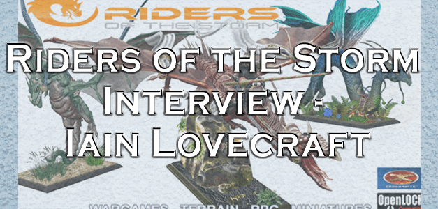 Riders of the Storm – Interview with Iain Lovecraft