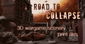 Road to collapse - Modern & post apo scenery