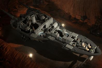 2nd Dynasty StarshipIII-Internal