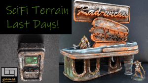 10days Re-run: Sci-fi/PostApocalyptic 3d printable Terrain