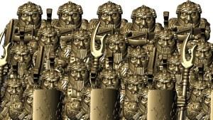 Dwarfs - STL files for a dwarfen army or adventure party