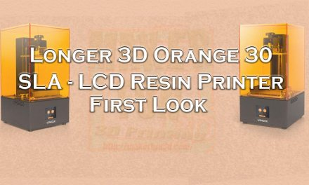Orange 30 : SLA – LCD Resin printer from Longer 3D