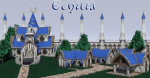 Ethilia: 3D printable fantasy buildings