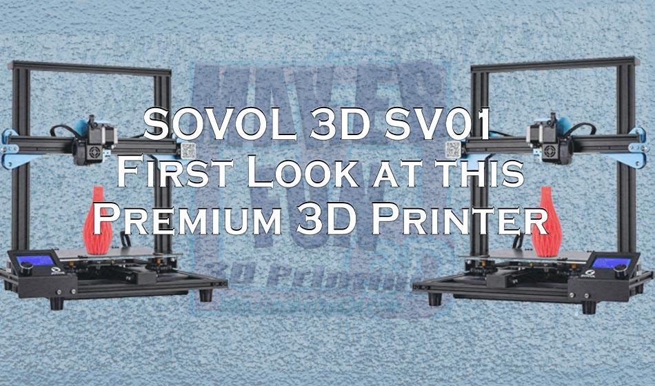 Sovol 3D SV01 3D Direct Drive 3D Printer – Ender 3 Pro Killer?