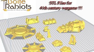 41th century wargame building STL 3D printable files