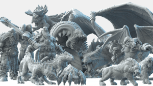 Bestiary Vol #2 - 3D Printable Models